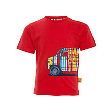 Buy Funky Monkey Van T-Shirt, Red Online at johnlewis.com