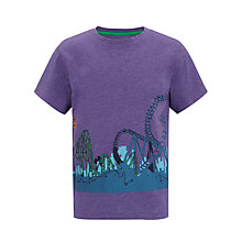 Buy John Lewis Boy Big Dipper T-Shirt, Purple Online at johnlewis.com
