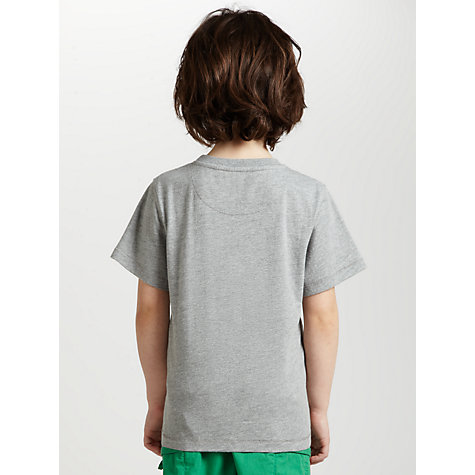 Buy John Lewis Boy Octopus T-Shirt, Grey Online at johnlewis.com