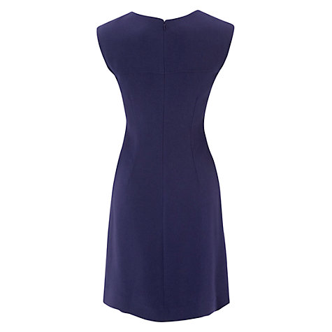 Buy Hobbs Harpur Dress, Purple Online at johnlewis.com