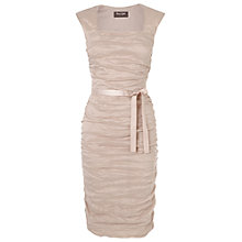 Buy Phase Eight Lauren Crease Dress, Dusty Pink Online at johnlewis.com