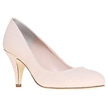 Buy Carvela Adam Court Shoes, Snake Print Cream Online at johnlewis.com