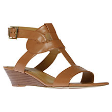 Buy Nine West Voodoo Leather Wedge Sandals Online at johnlewis.com
