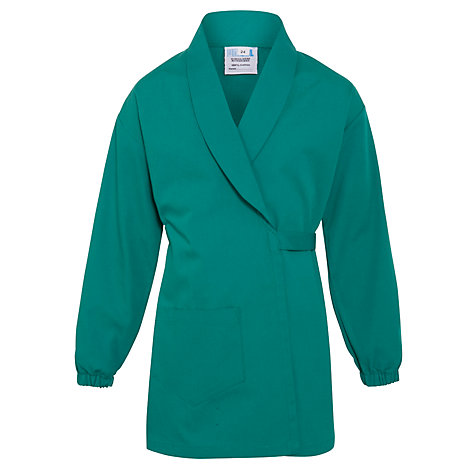 Buy John Lewis School Lab Coat, Green Online at johnlewis.com