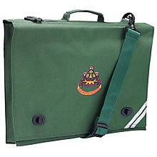 Buy Oakwood Preparatory School Book Bag, Green Online at johnlewis.com