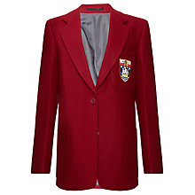 Buy The Red Maids' School Girls' Blazer, Red Online at johnlewis.com