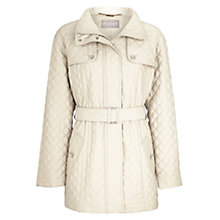 Buy Planet Quilted Coat, Stone Online at johnlewis.com