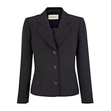 Buy Precis Petite Black Pin Spot Jacket, Black Online at johnlewis.com