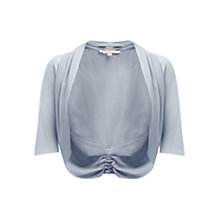 Buy Jacques Vert Chiffon Shrug, Silver Grey Online at johnlewis.com