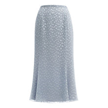 Buy Jacques Vert Spot Skirt, Silver Grey Online at johnlewis.com