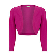 Buy Planet Knitted Shrug, Fuchsia Online at johnlewis.com