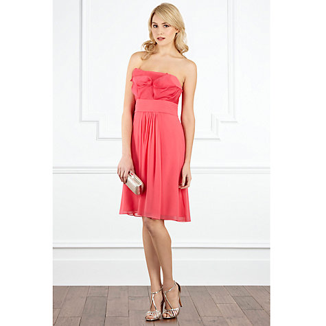 Buy Coast Elisa Short Dress, Pink Online at johnlewis.com