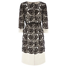 Buy Coast Nyx Cutwork Coat, Mono Online at johnlewis.com