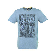 Buy Ted Baker Flowpo Graphic Print T-Shirt Online at johnlewis.com