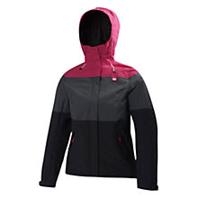 Buy Helly Hansen Women's Vancouver Tri Colour Jacket, Pink/Grey/Black Online at johnlewis.com