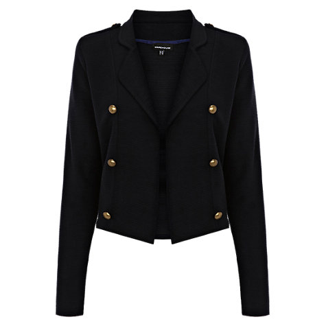 Buy Warehouse Military Jacket, Navy Online at johnlewis.com