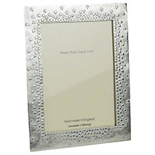 Buy Lancaster and Gibbings 'Floating Hearts' Pewter Photo Frame Online at johnlewis.com