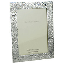 Buy John Lewis Pewter Birds Photo Frame Online at johnlewis.com