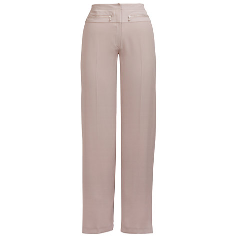 Buy Chesca Yoke Detail Trousers, Sand Online at johnlewis.com