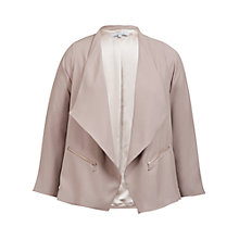 Buy Chesca Zip Detail Jacket, Sand Online at johnlewis.com