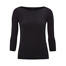 Buy Hobbs Coco Jersey Top Online at johnlewis.com