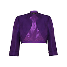 Buy Alexon Shimmer Bolero, Pansy Online at johnlewis.com