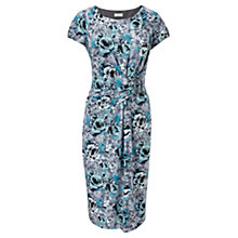 Buy CC Rose Print Jersey Dress, Sea Breeze Online at johnlewis.com