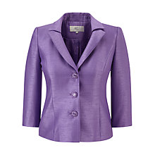 Buy CC Pleated Shantung Jacket, Wisteria Online at johnlewis.com