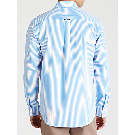 Buy Crew Clothing Fine Stripe Button Cuff Shirt Online at johnlewis.com
