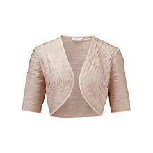 Buy CC Petite Ribbon Bolero, Gold Online at johnlewis.com
