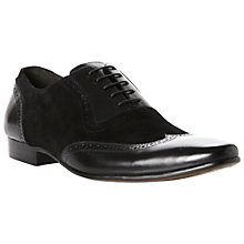 Buy Dune Artisan Suede and Leather Wingtip Oxford Shoes Online at johnlewis.com