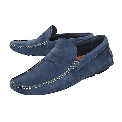 Buy Bertie Benz Suede Loafers Online at johnlewis.com