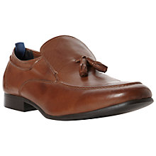 Buy Bertie Amplify Tassle Leather Loafers Online at johnlewis.com