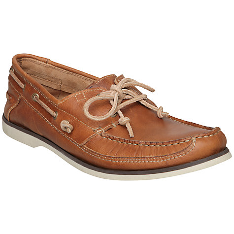 Buy Bertie Louis 4 Leather Boat Shoes Online at johnlewis.com