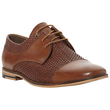 Buy Bertie Bowie Leather Woven Derby Shoes Online at johnlewis.com