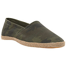 Buy Bertie Finalist Slip On Canvas Espadrilles Online at johnlewis.com