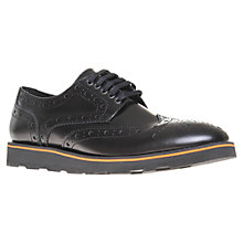Buy KG by Kurt Geiger Archer Brogue Derby Shoes Online at johnlewis.com