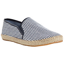 Buy Dune Finch Stripe Canvas Espadrilles Online at johnlewis.com