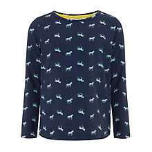 Buy John Lewis Girl Horse Print T-Shirt Online at johnlewis.com