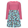 Buy John Lewis Girl Animal Print and Stripe Dress, Multi Online at johnlewis.com
