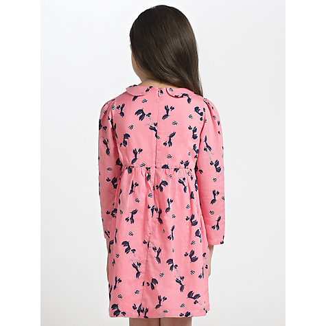 Buy John Lewis Girl Poodle Dress, Pink Online at johnlewis.com