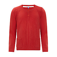 Buy John Lewis Girl Button Neck Cardigan Online at johnlewis.com