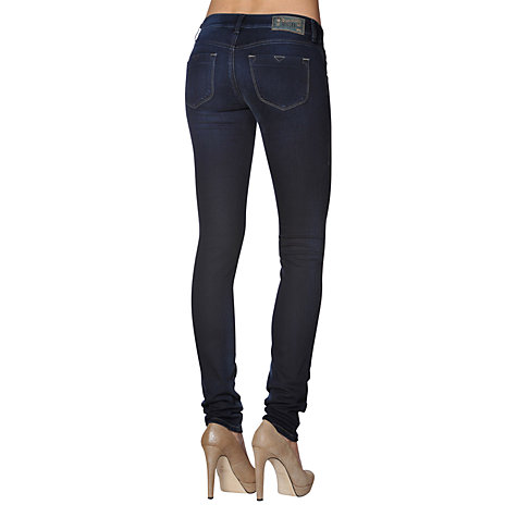 Buy Diesel Livier Super Stretch Jeggings, Vintage Supersoft Online at johnlewis.com