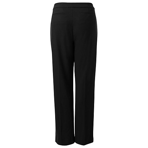 Buy East Wide Leg Trousers, Black Online at johnlewis.com
