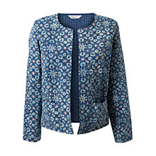Buy East Patiala Print Jacket, Indigo Online at johnlewis.com