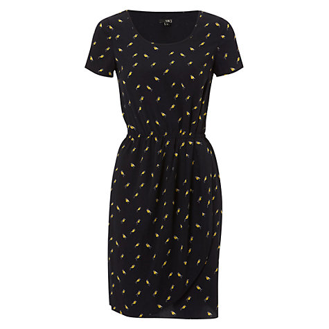 Buy NW3 by Hobbs Birdie Print Dress, Navy Multi Online at johnlewis.com
