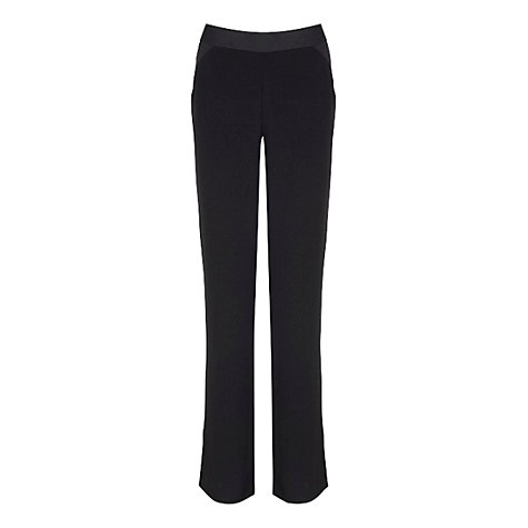 Buy Planet Occasionwear Trousers, Black Online at johnlewis.com