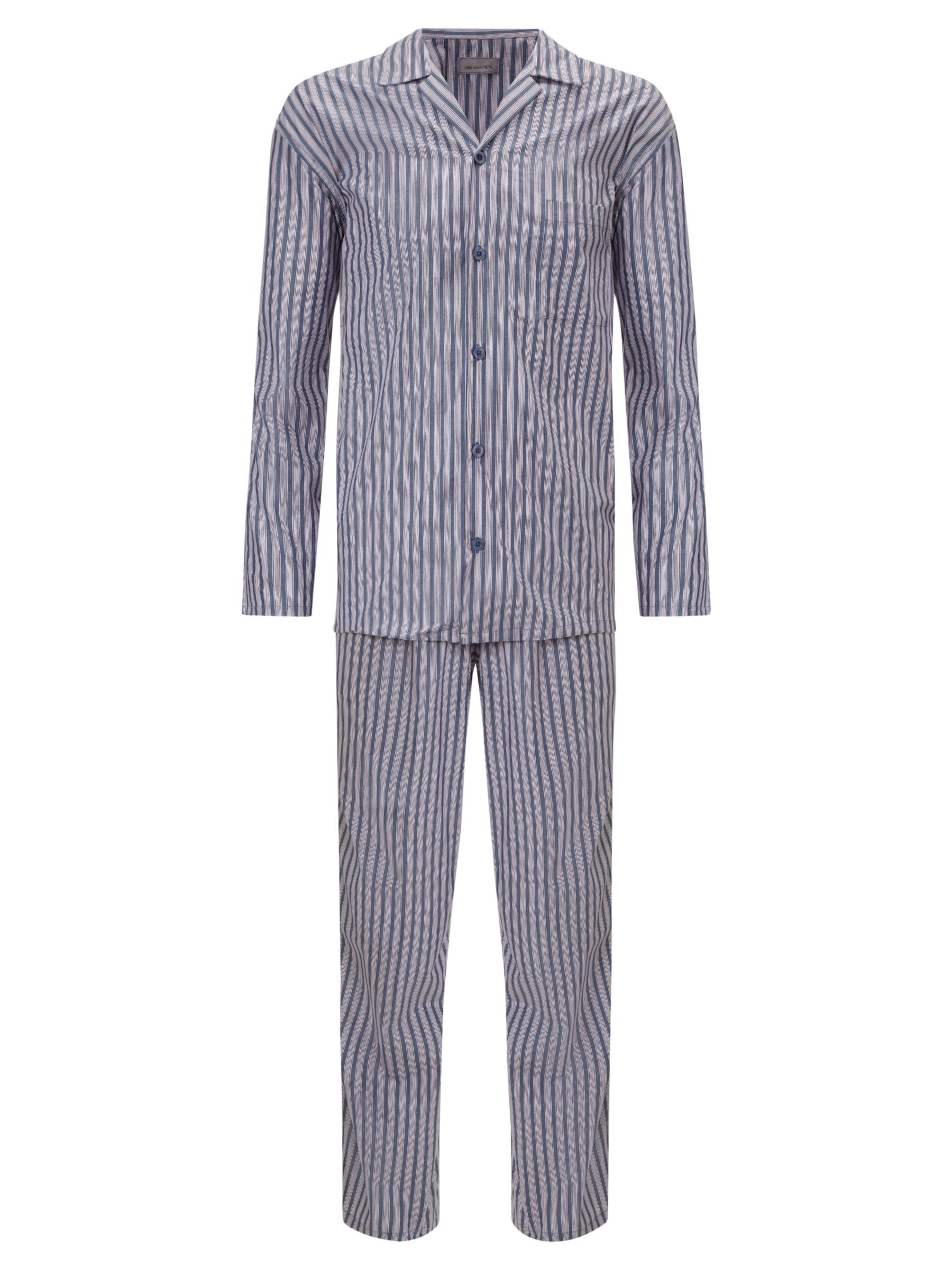 John Lewis Stripe Cotton Pyjamas