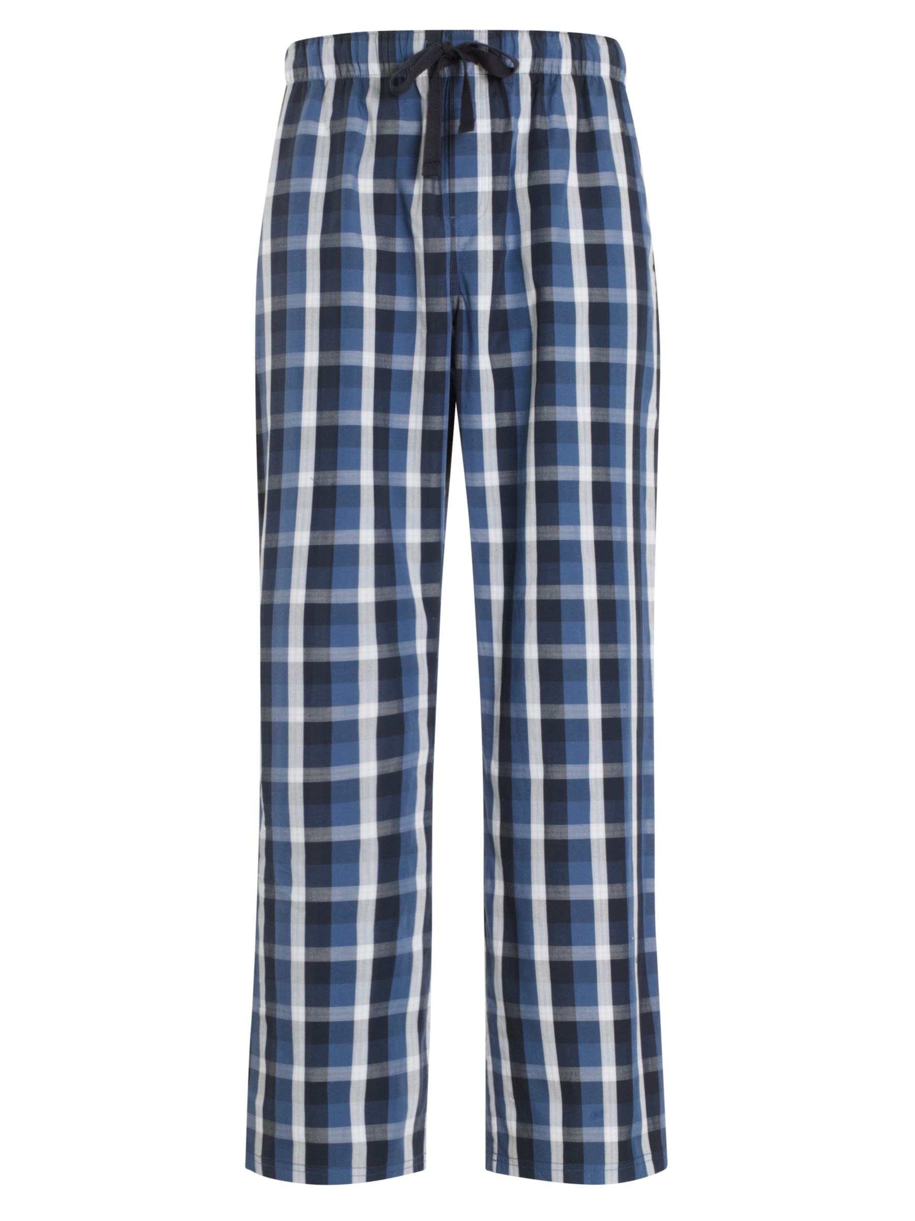 John Lewis Check Cotton Lounge Pants