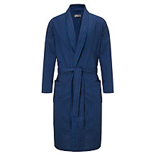 Buy John Lewis Poplin Stripe Cotton Robe Online at johnlewis.com